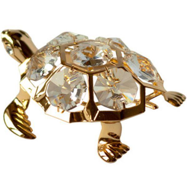 CRYSTOCRAFT Figurine Sea Turtle Image