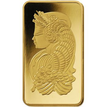 PAMP Fortuna Gold Ingot 5gm