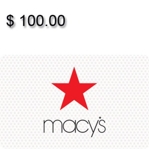 Macy's Gift Card $100 Image