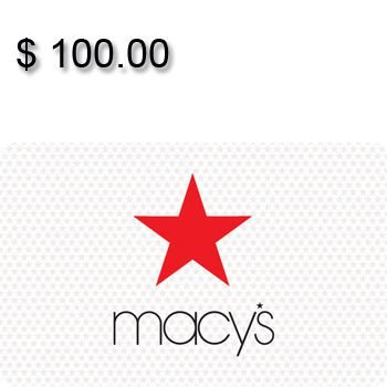Macy's Gift Card $100