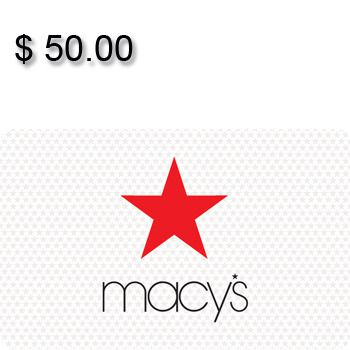 Macy's Gift Card $50