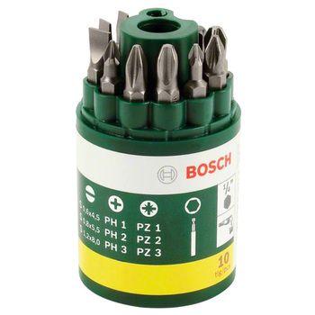 Bosch Screwdriver Bit Set 10pcs