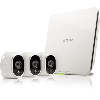 Netgear Arlo Smart Home Security 3 HD Smart Camera Kit