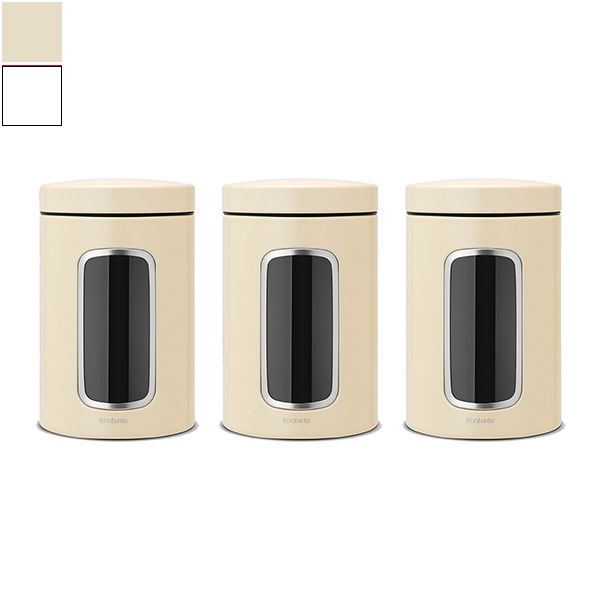 Brabantia Window Canister Set 3pcs Image