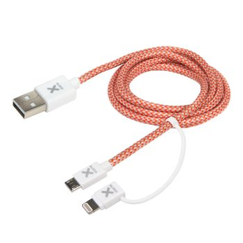 Xtorm DUAL CHARGING Cable (Lightning & Micro USB)