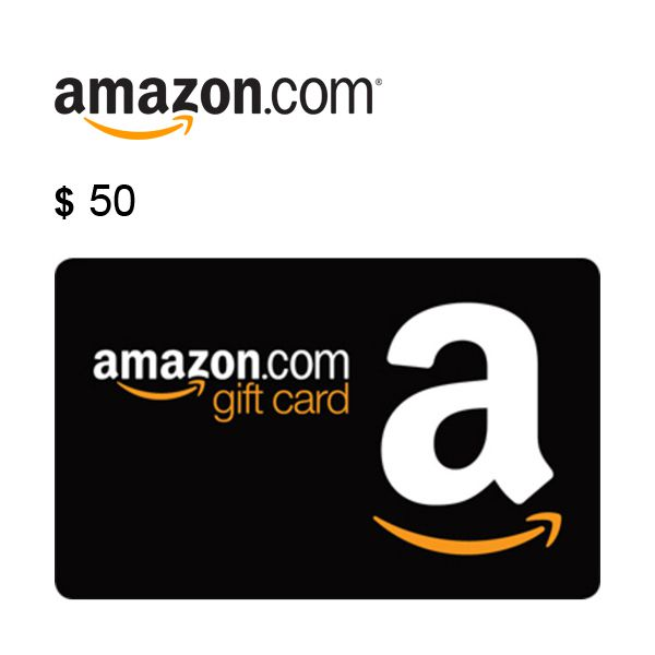 $50 Amazon.com Gift Card Claim Code Image