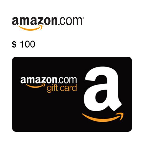 $100 Amazon.com Gift Card Claim Code Image