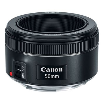 Canon EF50 Camera Lens mm f/1.8 STM