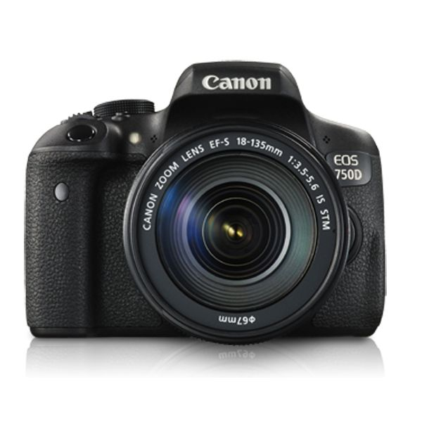 Canon EOS 750D DSLR Camera 18-135 IS STM Lens Kit Image