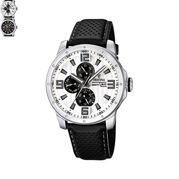 Festina SPORT Gents Watch with Leather Strap