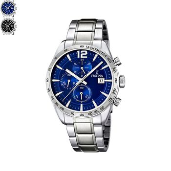 Festina DRESS Gents Chronograph with Steel Bracelet