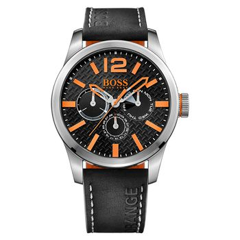 BOSS Orange PARIS Gents Multifunction Watch - Silver