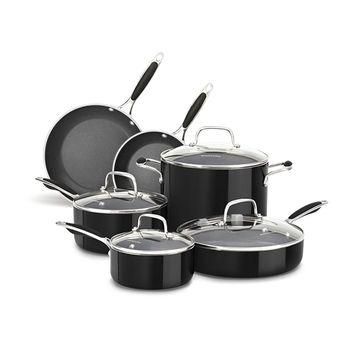 KitchenAid Aluminum Nonstick Cookware Set 10pcs