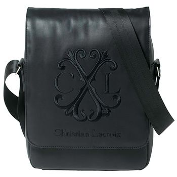 Christian Lacroix Logotype Mens Bag