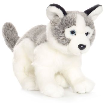 WWF Husky Pup Plush Animal