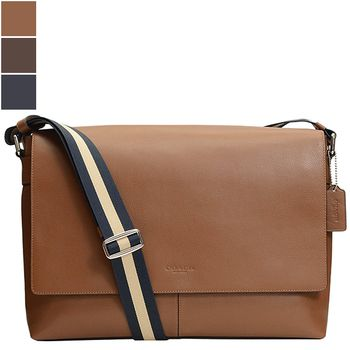 Coach Charles Messenger Smooth Leather Bag