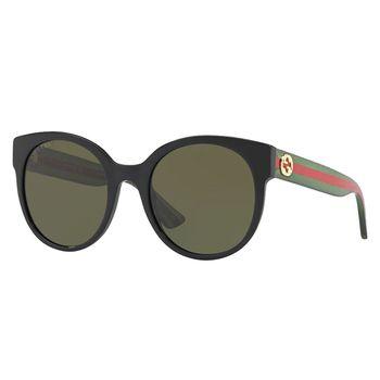 Gucci Women's Round Sunglasses GG0035S