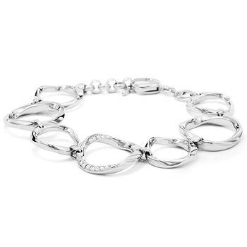 Fossil CLASSICS Women's Chain Bracelet - Silver