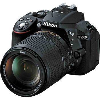Nikon D5300 DX Format DSLR Camera with 18-140mm Lens Kit