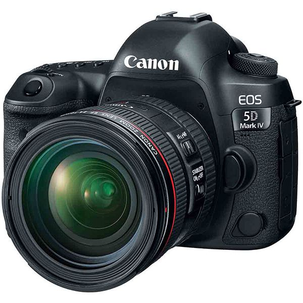 Canon EOS 5D Mark IV DSLR Camera with EF 24-70mm f/4L Lens Kit Image