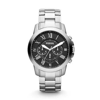 Fossil GRANT Gents Chronograph FS4736 with Steel Bracelet