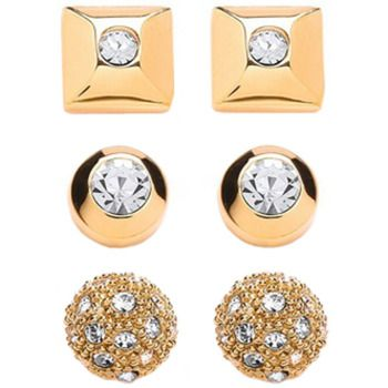 Buckley London Gold Trio Earrings Set