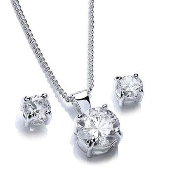 Buckley London Alexandra Pendant and Earring Set