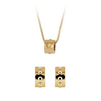 Buckley London Rocks Pendant and Earring Set