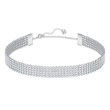 Swarovski FIT Choker or Double-Wrap Bracelet