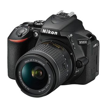 Nikon D5600 DSLR Camera with AF-P 18-55mm f/3.5-5.6G VR Lens Kit
