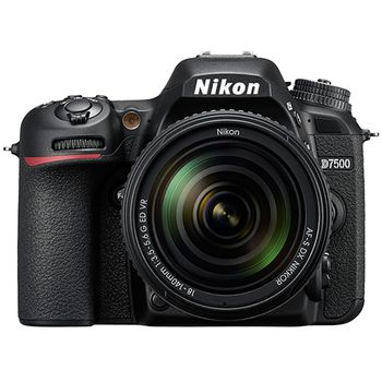 Nikon D7500 DSLR Camera with AF-S 18-140mm f/3.5-5.6G ED VR Lens