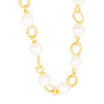 Anne Kaas CIRCLE Freshwater Pearl Necklace