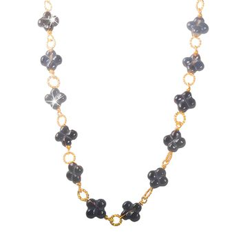 Anne Kaas CIRCLE Flower Necklace