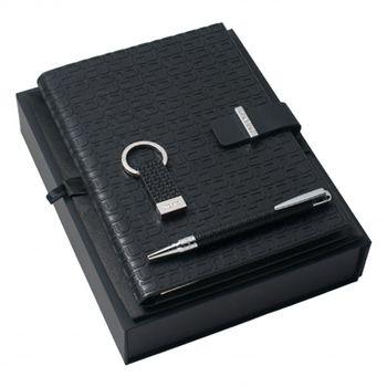 Emanuel Ungaro USB Stick, A5 Notepad & Pen Set