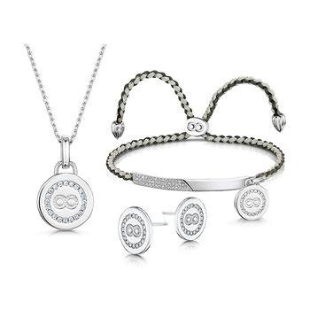 Infinity & Co ELIZABETH Jewellery Set