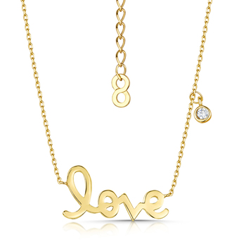 Infinity & Co LOVE STORY Pendant Necklace
