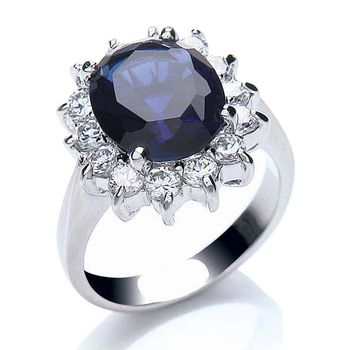 Buckley London Royal Blue Katherine Ring