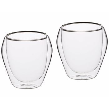 KitchenCraft Le'Xpress Double-Walled Tumbler Set 2pcs