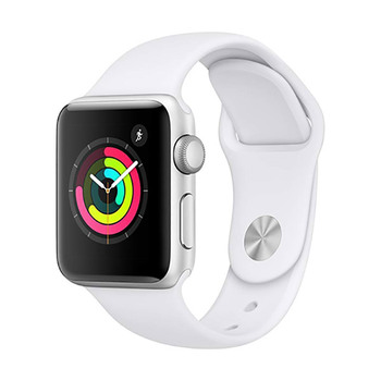 Apple Watch Series 3 GPS in Aluminum 38mm with Sport Band