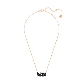 Swarovski ICONIC Double Swan Necklace