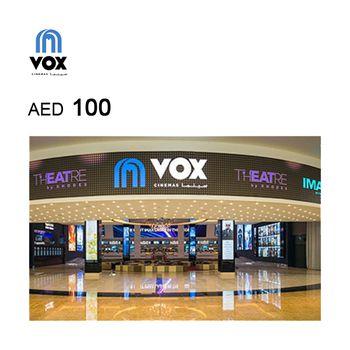 VOX Cinemas eGift Card AED100
