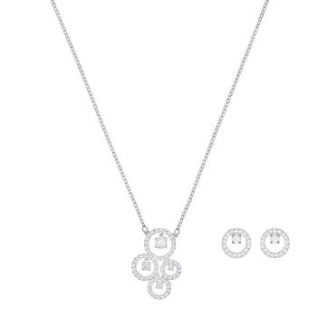 Swarovski CREATIVITY CZ Necklace & Earrings Set
