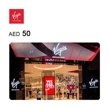 Virgin Megastore eGift Code AED50