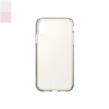Speck PRESIDIO Clear+Glitter Case for iPhone XR