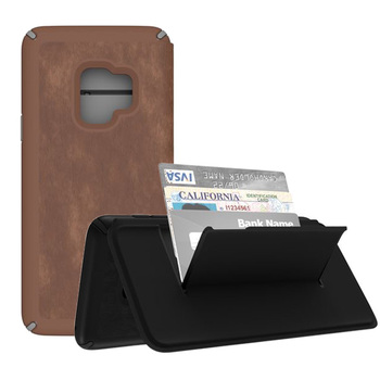 Speck PRESIDIO Folio Leather Case for Samsung Galaxy S9+
