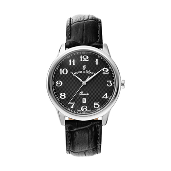 Jacques du Manoir LEGEND Silver Gents Watch