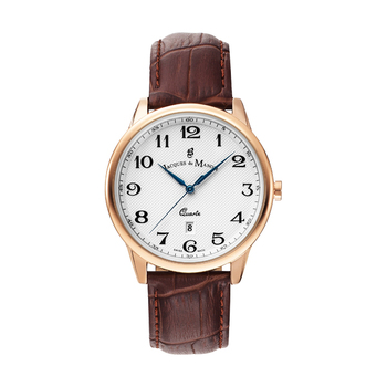 Jacques du Manoir LEGEND Rosé Gents Watch