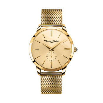 Thomas Sabo REBEL SPIRIT Gents Watch - Yellow Gold