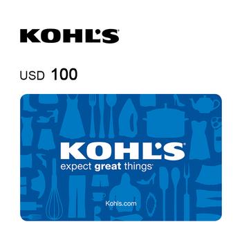 Kohl's e-Gift Card $100