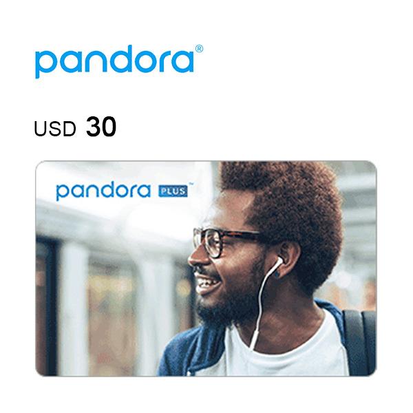 Pandora e-Gift Card $30 Image